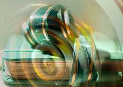 All in a spin .... (Elisafox22) Tags: elisafox22 hss sliderssunday abstract notebook greens colours textures ribbon green sunshine light dark photoshop postprocessing photomanipulation photo image photomanipulated patterns texture indoors elisaliddell©2019
