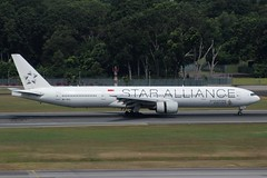 Singapore Airlines (So Cal Metro) Tags: airline airliner airplane aircraft plane jet aviation airport singapore sin changi 9vsyl staralliance singaporeairlines boeing 777