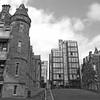 Redevelopment (magaroonie) Tags: quartermile edinburgh 7dos oldnew black white wednesday
