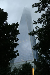 """Reaching to the Clouds"" (Eclectic Jack) Tags: new york city newyork coast east nyc apple big july 2018 one world trade center 911 ground zero site wednesday window windowwednesday clouds reach reaching"