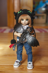 How To Train Your Dragon 05 (Mista-Oro) Tags: toy howtotrainyourdragon dragon dreamworks toothless fairyland ltf littlefee chiwoo bjd doll