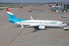 Boeing 737-8C9(WL) - LX-LBA - HAJ - 02.04.2019(4) (Matthias Schichta) Tags: haj hannoverlangenhagen eddv flugzeugbilder planespotting luxair lxlba boeing b737800