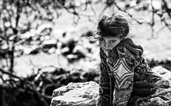 Pitchounette (Stephane Rio 56) Tags: maroc portrait enfant nb afrique africa bw child headshot ma mar morocco