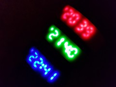 And the time is... (katy1279) Tags: macromondays timepieces digitaldigitalwatchcolourcolourful