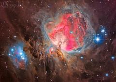 Orion's Great Nebula (Delberson Tiago) Tags: astronomy astrophotography astrofoto astrofotografia astronomia astrophoto amateur apod deepsky dso optolong oriontelescopes orion m42 milkyway telescope telescopio telescópio qhy qhy163m baader nasa nebulae nightsky nebulosa night nebula nature astrometrydotnet:id=nova3143619 astrometrydotnet:status=solved