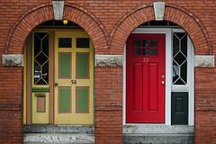 Two Doors in Portland
