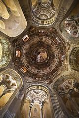 Basilica San Vitale, Ravenna, Italy (Mariannera) Tags: church interia italy sanvitale religion christianity arches churchinteria baroque byzantine canon mosaics ravenna