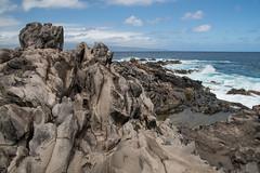 Formation (Austin Westervelt) Tags: hawaii maui island landscape seascape outdoors outside rocks rocky lava water ocean sea waves sky clouds beautiful