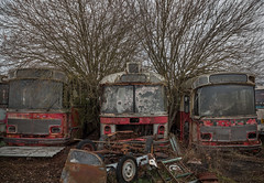 Terminus ! (L'empreinte du temps) Tags: aventure oublié souvenir memoire temps ancien manfrotto 60d old past passé exploring abandoned architecture abandonné exploration urbex france friche 2019 canon decay patrimoine travel culturel closed rouille ruine car oldcar bus arbre nature hiver graveyard cimetière