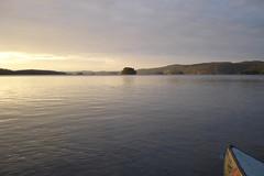 DSC05054 (MSchmitze87) Tags: schweden sweden dalsland kanu canoeing see lake sunset