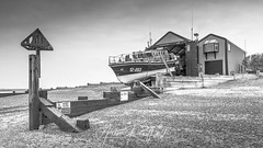 Wells Life Boat (Aron Radford Photography) Tags: wells life boat next sea defences hut shed house beach norfolk