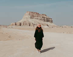 Tandis mountain (ghazalkohandel) Tags: mountain mountains iran qeshm nature landscape girl