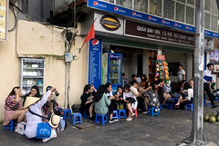 Students Bar (cowyeow) Tags: hanoi vietnam asia asian street urban city people girls young woman women asiangirl vietnamese vietnamesegirl vietnamesewoman restaurant candid coffee streetart students bar coffeeshop tea shop