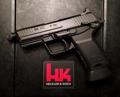 HK45C Tactical (KochAddict) Tags: hk45ct hk 45acp pistol firearms handgun 2a