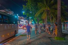 Beach road at night, Pattaya, Thailand (CamelKW) Tags: thailand2018 beachroad night pattaya thailand chonburi th