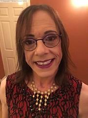 November 2018 (Girly Emily) Tags: crossdresser cd tv tvchix trans transvestite transsexual tgirl tgirls convincing feminine girly cute pretty sexy transgender boytogirl mtf maletofemale xdresser gurl glasses dress hull smile