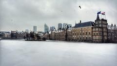 Frozen city (Sen@d) Tags: denhaag hofvijver