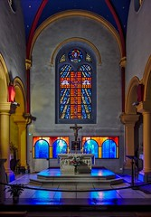 Eglise (Marc ALMECIJA) Tags: religious religion religieux église eglise church intérieur sony rx100 interior palavas