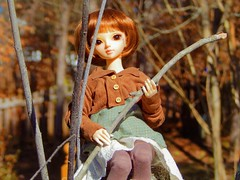 High and Dry (Forest_Daughter) Tags: fairyland minifee rena bjd balljointed doll