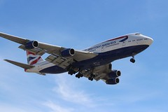British Airways (So Cal Metro) Tags: airline airliner airplane aircraft aviation airport plane jet lax losangeles la british britishairways boeing 747 744 747400 jumbo jumbojet gcivs
