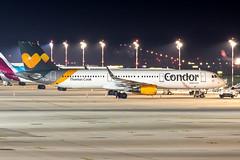 D-AIAF Condor Airbus A321-211 (buchroeder.paul) Tags: eddl dus dusseldorf international airport germany europe ground night daiaf condor airbus a321211