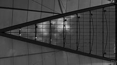 roof detail (MAICN) Tags: lines architektur building munich dach linien sw gebäude münchen bw highkey blackwhite monochrome geometrisch airport schwarzweis roof architecture flughafen einfarbig 2019 geometry mono