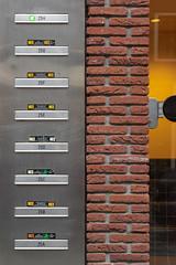 Patroon - Pattern (naturum) Tags: amsterdam baksteen brick brievenbus februari february geo:lat=5236987130 geo:lon=491399763 geotagged holland hoogtekadijk kadijken mailbox nederland netherlands patroon pattern saturdayselfchallenge ssc verticaal vertical winter noordholland nld