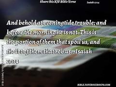 Isaiah 17:14 (jhungalang) Tags: isaiah 1714