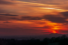 Nikon Sunset (wakarimasen1) Tags: 105mmf25ai d2hs nikon