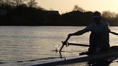 IMG_8964 (fergusmainland) Tags: newcastle nubc university tyne canottaggio cannon sunset rowing aviron rudern sunrise british boat