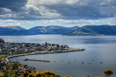 Inverclyde and The River Clyde (James Edmond Photography) Tags: 2018 blue drone glasgow grass green jamesedmond jamesedmondphotography landscape photography scotland scottish sea sky spring boat paddle steamer waverley