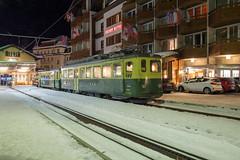 Wengernalpbahn BDhe 4/4 106 at Grindelwald (daveymills37886) Tags: wengernalpbahn bdhe 44 106 grindelwald