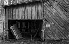 "Roof under a roof (hutchphotography2020) Tags: barn barnwood roof rural nikon ""nikonflickraward"""