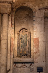 IMG_5204  St Felix Effigy (Beth Hartle Photographs2013) Tags: norfolk norwich cathedral anglican ancient historic benedictine monastery churchofengland medievalpainting 13thcentury