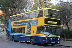 Dublin Bus AX556 (06D30556). (Fred Dean Jnr) Tags: dublinbusyellowbluelivery dublinbusroute66 pboro volvo b7tl alexander alx400 ax556 06d30556 merrionsquaredublin november2013 dublin dublinbus transbus skymovies sky