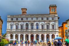 Building in Bergamo, Italy (M Malinov) Tags: bergamo italy europe eu earth building architecture beautiful city италия европа бергамо сграда град