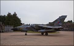 ZG752 Panavia Tornado GR4 Royal Air Force (elevationair ✈) Tags: knf egym raf marham military jets fastjets avgeek aviation airplane plane panavia tornado gr4 has45 royalairforce rafmarham dull overcast cloudy panaviatornadogr4 zg752 camojet
