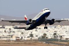G-MEDK_12 (GH@BHD) Tags: gmedk airbus a320 a320200 a320232 ba baw britishairways speedbird shuttle unionflag aircraft aviation airliner ace gcrr arrecifeairport arrecife lanzarote