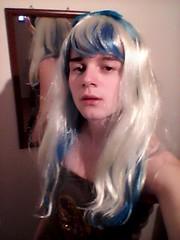 I love this hair so much! :) (Night Girl (my feminine side) :)) Tags: crossdress cd crossdressing cute cross dress dresser girly boy femboy feminine fun me girl
