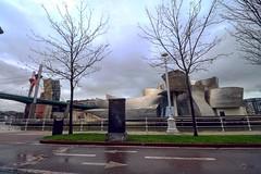 Guggenheim (nrbargo) Tags: vizcaya euskadi bilbao guggenheim nervión agua water europe puente bridge arquitectura museo museum ría