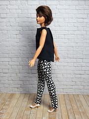 OOAK Curvy Fashion (Levitation_inc.) Tags: ooak handmade doll dolls fashion fashions levitationfashion curvy barbie barbies made move 2019 casual luna