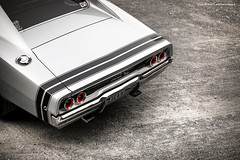 silver 1968 Dodge Charger R/T - Shot 8 (Dejan Marinkovic Photography) Tags: 1968 american car charger classic dodge mopar muscle tail