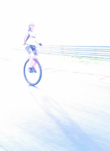 An angel on a unicycle?