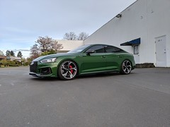 2019 RS5 Sportback (Rob Overcash Photography) Tags: audi rs5 sportback b9rs5 sonomagreen vossen forged abt has carbonfiber ecodes oemplus