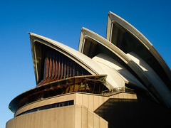 Sydney Opera House, Sydney, New South Wales, Australia. (digitalreflections) Tags: pavingstone shadow sitting sydney2009 famousplace australia vertical day sydney newsouthwales travel sky modern operahouse outdoors sydneyoperahouse places colourimage geometric photography capitalcities lensflare architecture sunlight traveldestination internationallandmark artscultureandentertainment builtstructure