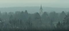 Church in the fog (JLM62380) Tags: church fog église brouillard brume haillicourt france hautsdefrance winter village weather