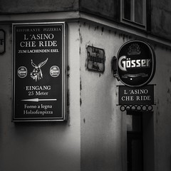 Contrast (Petri Juhana) Tags: bar monochrome bw lunix panasonic tz80 tz vienna wien city travel tourism