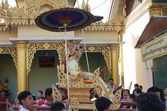 Ordination ceremony for novice Buddhist monks, Shwedagon Pagoda, Yangon (11) (Prof. Mortel) Tags: myanmar burma yangon rangoon buddhist pagoda shwedagon monks