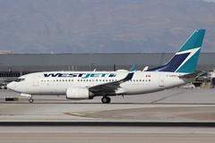WestJet (So Cal Metro) Tags: westjet 737 737700 boeing cgwbt las lasvegas mccarranairport mccarran vegas airliner airline aircraft aviation airport jet