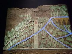 UK - London - Bloomsbury - British Museum - Scene from Ashburnipal's palace in Ninevah (JulesFoto) Tags: uk england london britishmuseum assyria sculpture